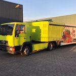 Opknappen MAN truck + oplegger